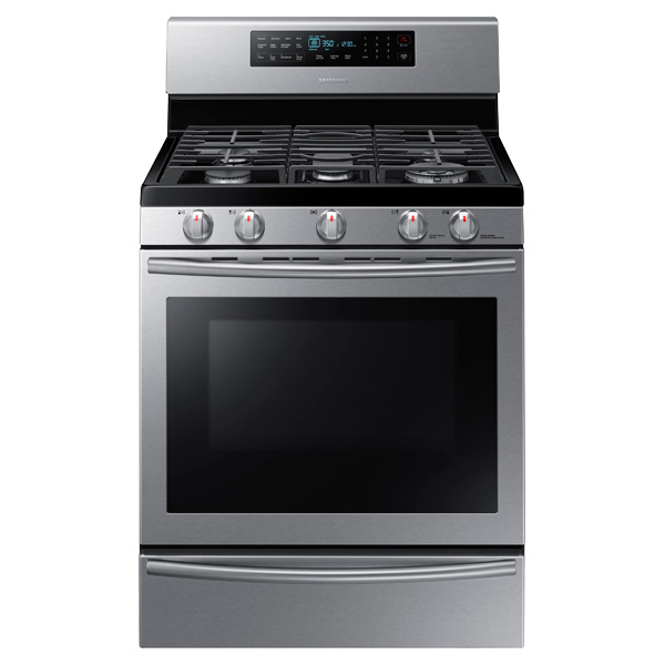NX58H5650WS Gas Range with True Convection