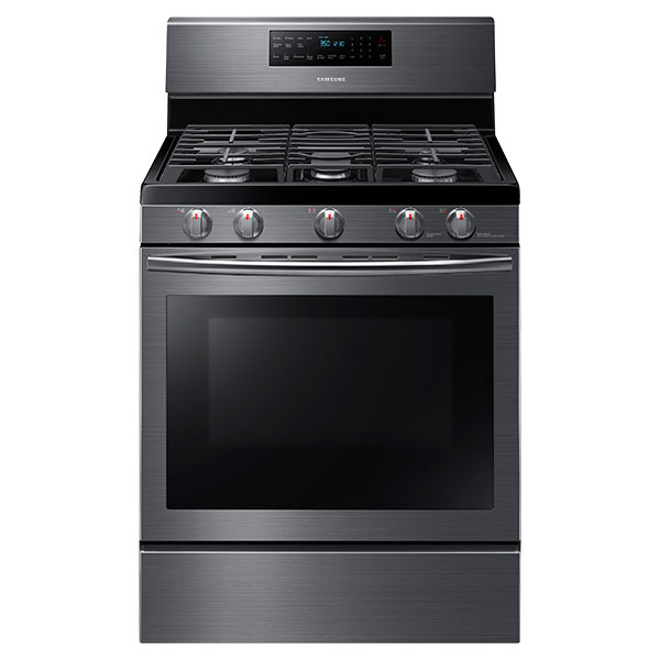 NX58J5600SG Gas Range with Convection (Black Stainless Steel)