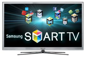 Smart TV with Web Connected Apps & Web Browser