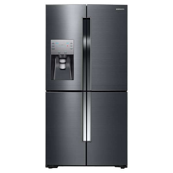 23 cu. ft. Capacity Counter Depth 4-Door Flex™ Refrigerator with FlexZone™ (Black Stainless Steel)