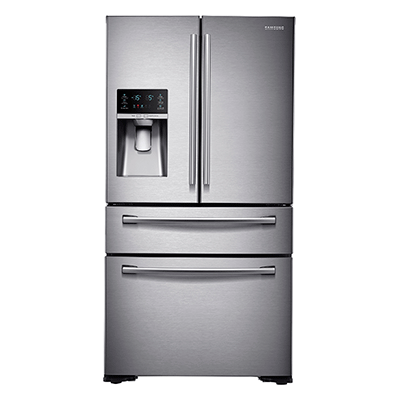"36"" Wide X 70"" High, 30 cu. ft. Capacity 4-Door French Door Refrigerator (Stainless Steel)"