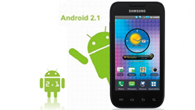 Galaxy S with Android™ 2.1 OS