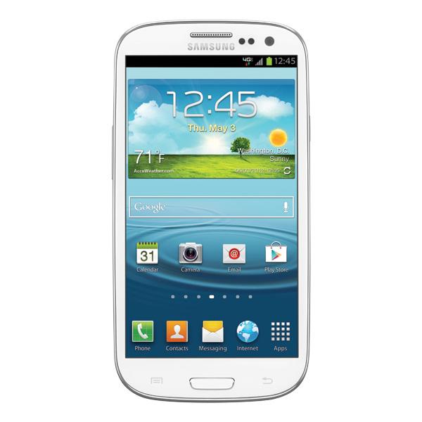Samsung Galaxy S III (Verizon), Marble White