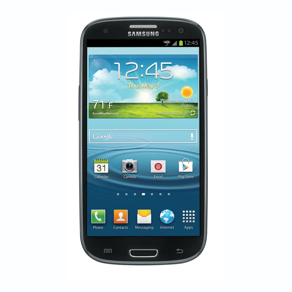 Samsung Galaxy S III (Verizon), Sapphire Black
