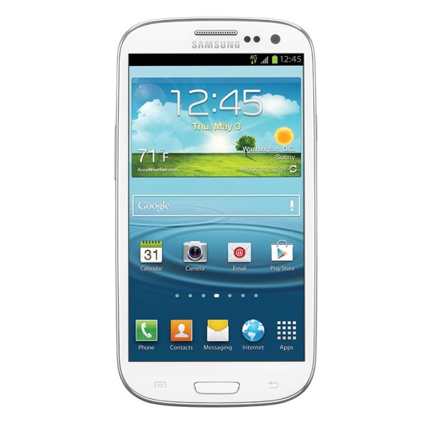 Samsung Galaxy S III (C Spire), Marble White