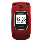 Jitterbug Plus (Great Call) Cell Phone, Red