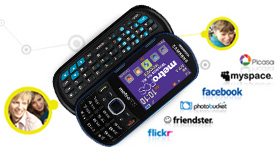 Samsung Messager® III (Metro PCS)QWERTY Cell Phone