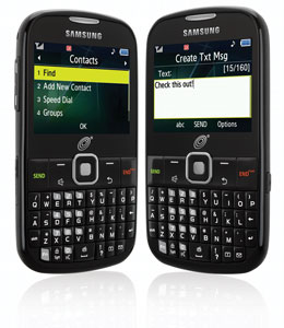 Samsung S380C (Straight Talk) QWERTY Cell Phone