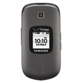 Samsung Gusto 2 (Verizon), Charcoal Gray
