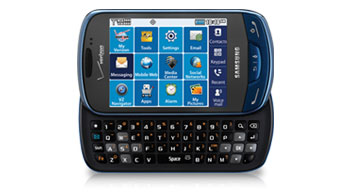 Samsung Brightside™ (Verizon), Sapphire Blue