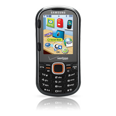 Samsung Intensity™ II QWERTY Cell Phone
