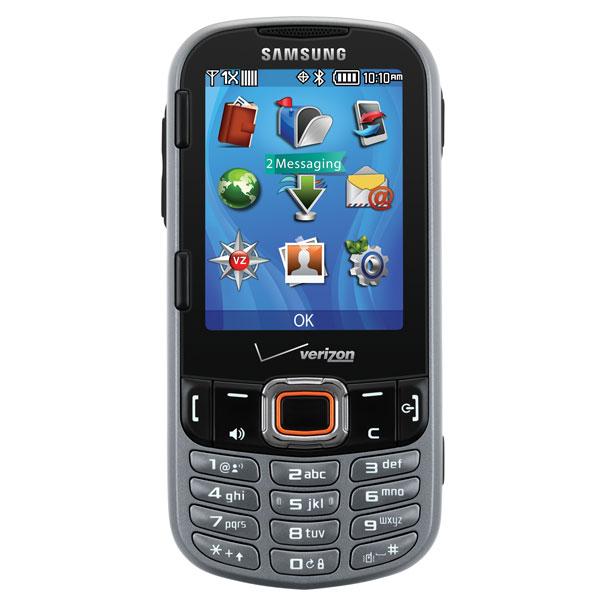 Samsung Intensity III (Verizon), Steel Gray
