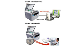 Scan to email