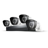 SDS-P4042 4 Camera, 8 Channel 960H DVR Security System