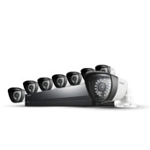 SDS-P4082 8 Camera, 8 Channel 960H DVR Security System
