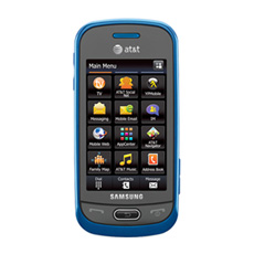 Samsung Eternity® II Touchscreen Cell Phone