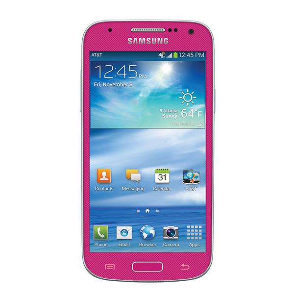Samsung Galaxy S4 Mini (AT&T), Pink