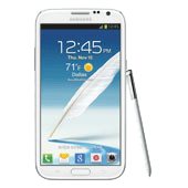 Samsung Galaxy Note II (AT&T), Marble White