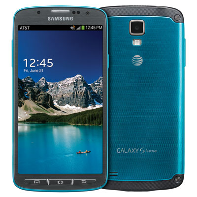 Samsung Galaxy S4 Active phone design