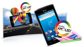 Super AMOLED Touchscreen