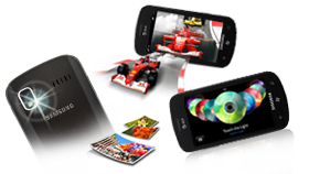 Multimedia package: 5MP Camera with auto focus & flash, Camcorder, WiFi, 3.5mm headphone jack
