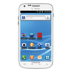 Samsung Galaxy S® II, available at T-Mobile (White)