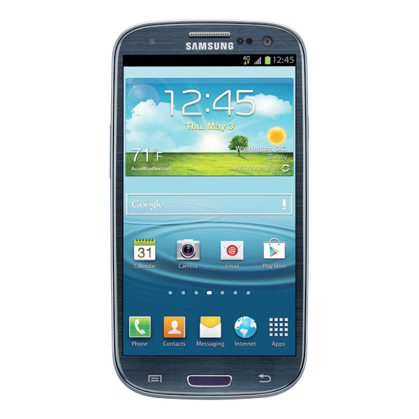Samsung Galaxy S III (T-Mobile 4G LTE), Pebble Blue