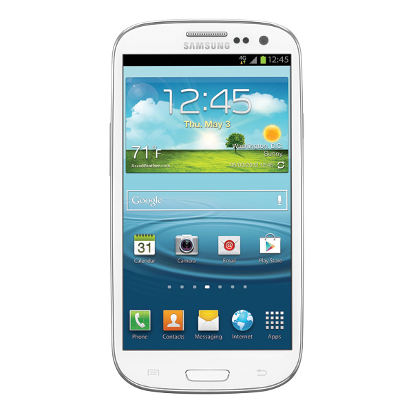 Samsung Galaxy S III (T-Mobile 4G LTE), Marble White
