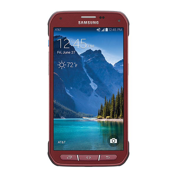 Samsung Galaxy S5 Active (AT&T), Ruby Red