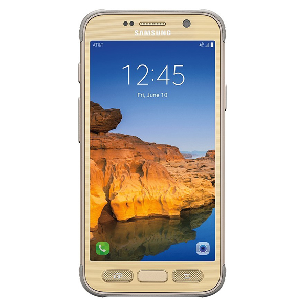 Samsung Galaxy S7 active, 32GB, (AT&T), Sandy Gold
