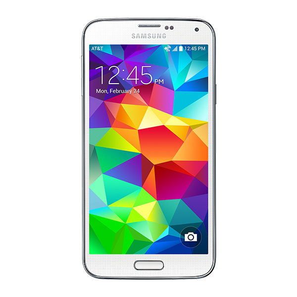 Samsung Galaxy S5 (AT&T), Shimmery White