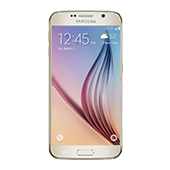 Samsung Galaxy S6, 32GB<sup>†</sup>, (Sprint), Gold Platinum