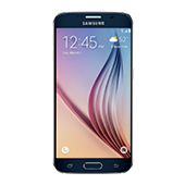 Samsung Galaxy S6, 32GB<sup>†</sup>, (US Cellular), Black Sapphire