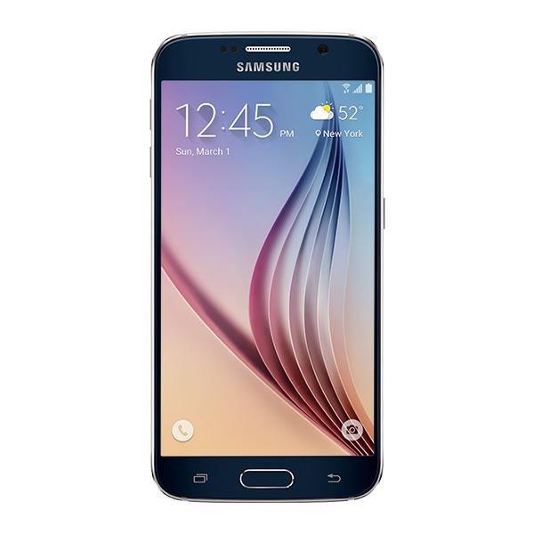 Samsung Galaxy S6, 32GB<sup>†</sup>, (Unlocked), Black Sapphire