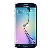 Samsung Galaxy S6 edge, 32GB<sup>†</sup>, (US Cellular), Black Sapphire