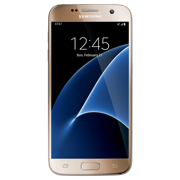 Samsung Galaxy S7, 32GB, (AT&T), Gold Platinum