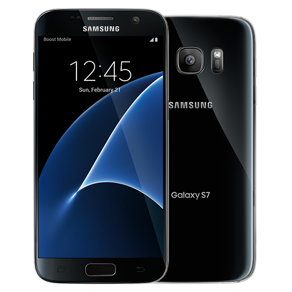 Samsung Galaxy S7, 32GB, (Boost), Black Onyx