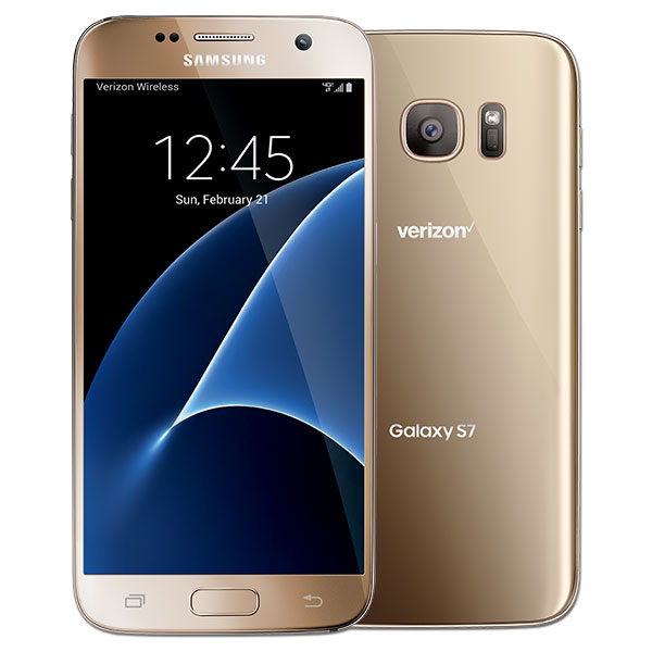 Samsung Galaxy S7, 32GB, (Verizon), Gold Platinum