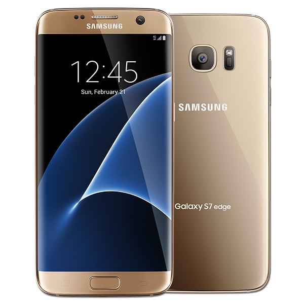 Samsung Galaxy S7 edge, 32GB, (US Cellular), Gold Platinum