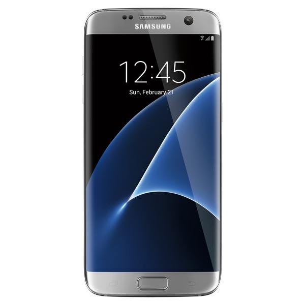 Samsung Galaxy S7 edge, 32GB, (Unlocked), Silver Titanium for Business