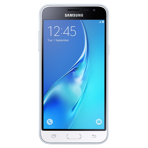Samsung Galaxy J3, 16GB, (Unlocked), White for Business