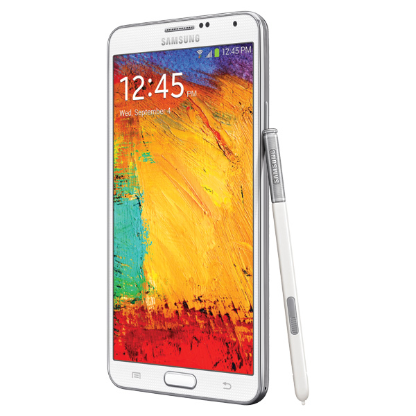 Samsung Galaxy Note 3 (Verizon), White