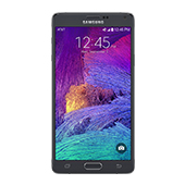 Samsung Galaxy Note 4 (AT&T), Charcoal Black