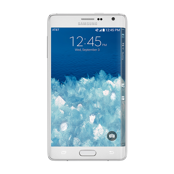 Samsung Galaxy Note<sup>®</sup> Edge (AT&T), Frost White