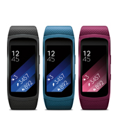 Samsung Gear Fit2 (Large) Black