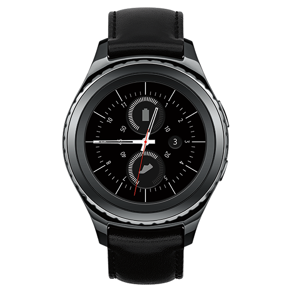 Samsung Gear S2 classic, Black (AT&T)