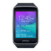 Samsung Gear S (AT&T), Charcoal Black