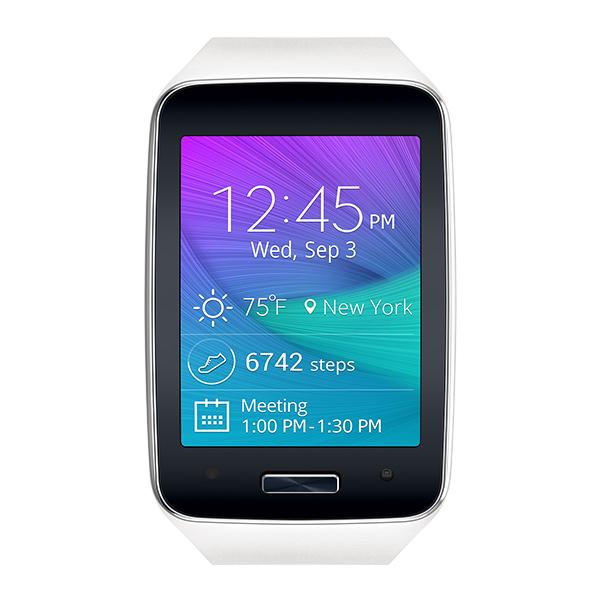 Samsung Gear S™, (Verizon), Frost White