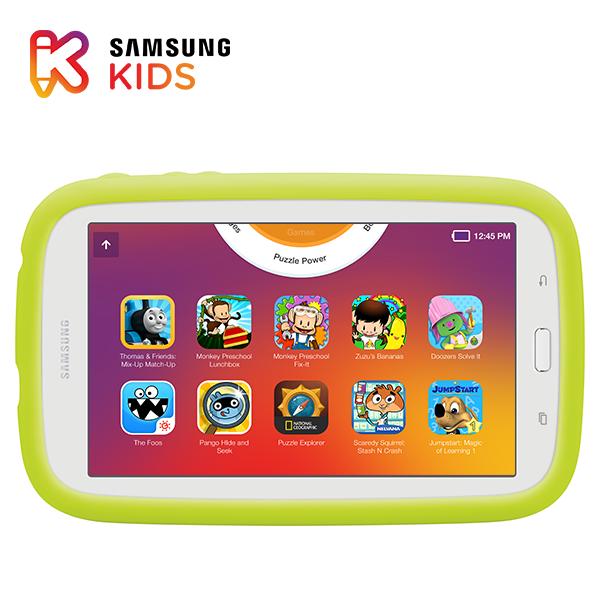 "Samsung Kids Tab E Lite 7.0"" 8GB (Wi-Fi), White with Bumper case"