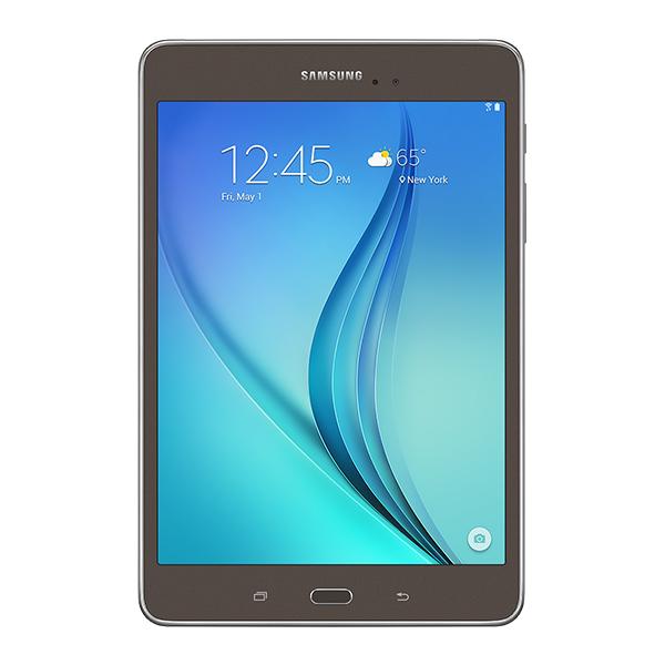 "Samsung Galaxy Tab<sup>®</sup> A 8.0"" 16GB (Wi-Fi), Smoky Titanium"